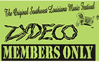 image: The Original Southwest Louisiana Music Festival Zydeco - Members Only